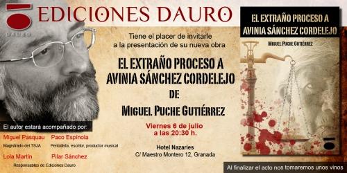 Invitación EL EXTRAÑO PROCESO