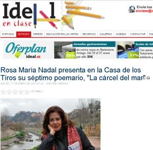 Entrevista a Rosa María Nadal - Ideal en Clase