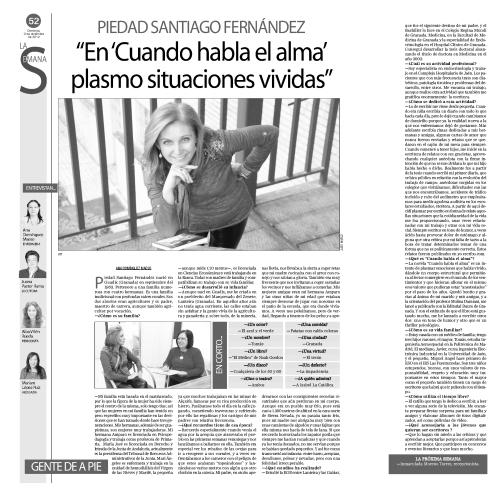 Piedad Santiago - entrevista completa