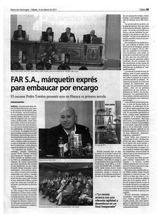 Diario del AltoAragón (16 Febrero)