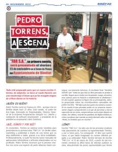 Revista Somos litera de noviembre (pedro torréns - far s.a. - página 30)