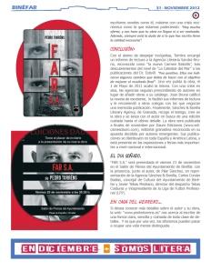 Revista Somos litera de noviembre (pedro torréns - far s.a. - página 31)