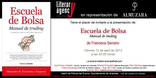 ESCUELA DE BOLSA Invitación