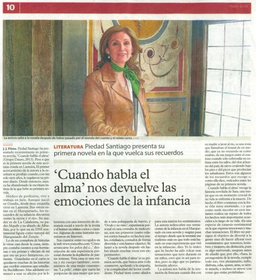 periodico CUANDO HABLA EL ALMA