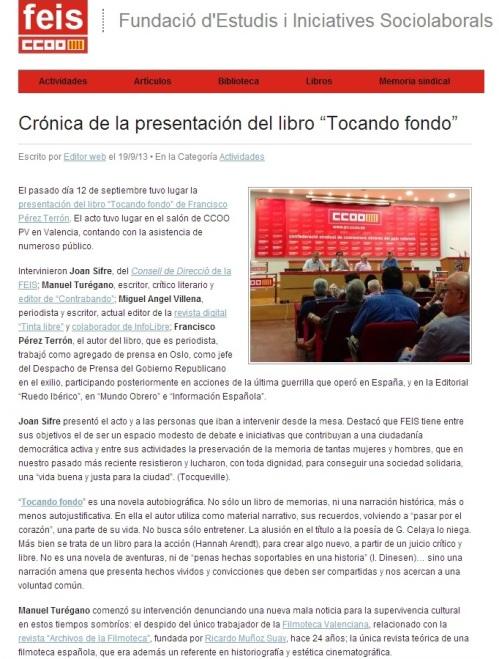 Crónica 12 septiembre