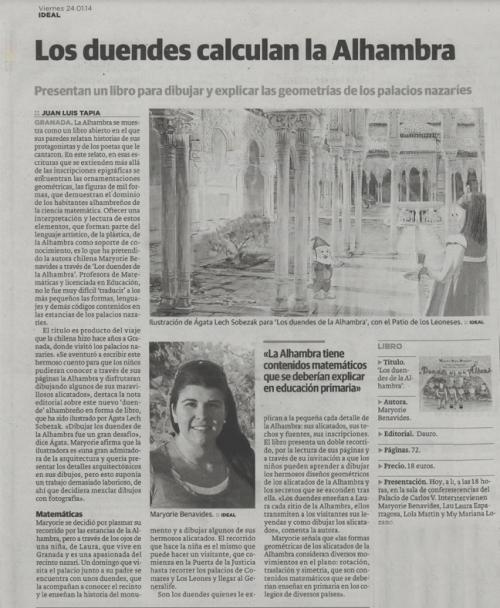 Los duendes de la Alhambra Ideal 24-01