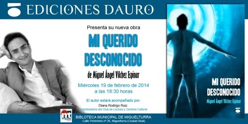 MI QUERIDO DESCONOCIDO_invitacion_CIUDAD REAL