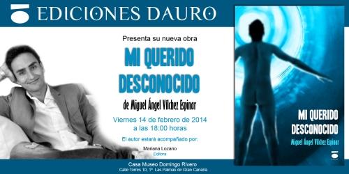 MI QUERIDO DESCONOCIDO_invitacion_laspalmas