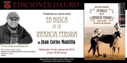 EN BUSCA DE LA INFANCIA PERDIDA_invitacion_GRANADA