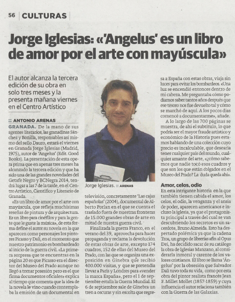 Jorge Iglesias en Ideal