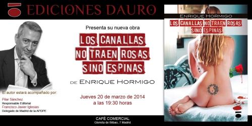 LOS CANALLAS NO TRAEN ROSAS_invitacion
