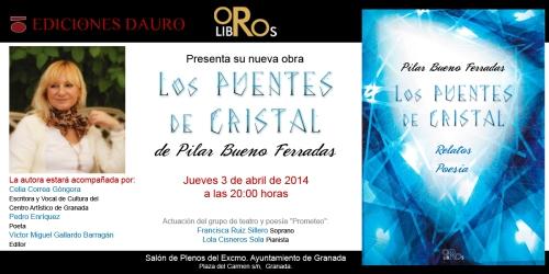 LOS PUENTES DE CRISTAL_invitacion