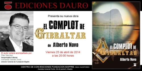 EL COMPLOT DE GIBRALTAR_invitacion