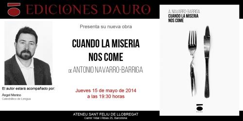 CUANDO LA MISERIA NOS COME_invitacion15-05-14