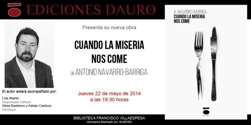 CUANDO LA MISERIA NOS COME_invitacion22-05-14