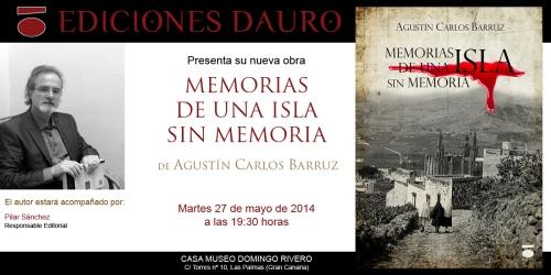 MEMORIAS DE UNA ISLA_invitacion_27-5-14