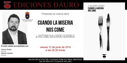 CUANDO LA MISERIA NOS COME_invitacion14-06-14
