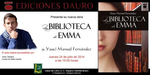 LA BIBLIOTECA DE EMMA_invitacion_cartagena