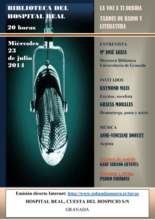 TARDES DE RADIO Y LITERATURA HOSPITAL REAL 3 (1)