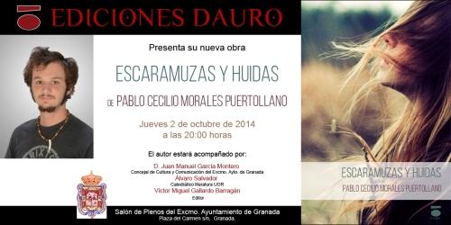 ESCARAMUZAS Y HUIDAS_invitacion