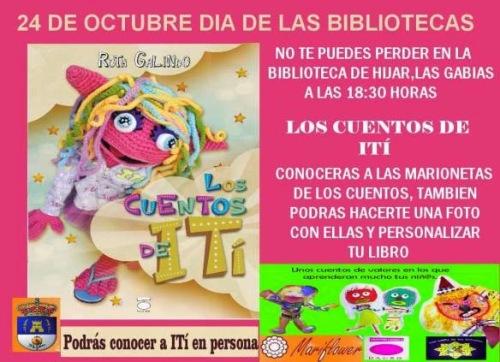 24 DE OCTUBRE DIA DE LAS BIBLIOTECAS CON ITí