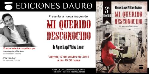 MI QUERIDO DESCONOCIDO_invitacion_17-10-14