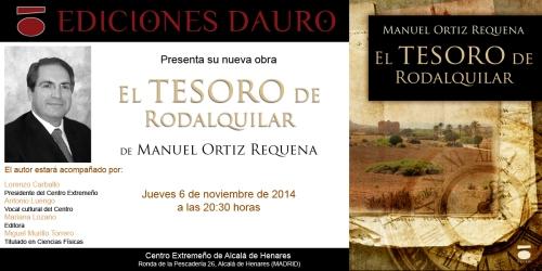 EL TESORO DE RODALQUILAR_invitacion_6-11-14