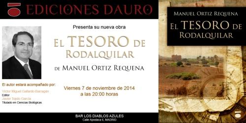 EL TESORO DE RODALQUILAR_invitacion_7-11-14