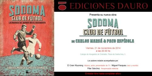 SODOMA CLUB DE FUTBOL_invitacion
