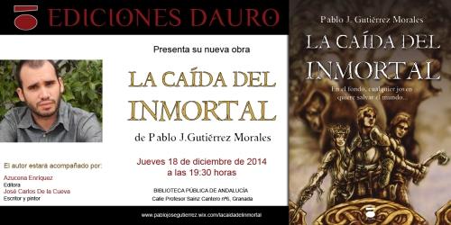 LA CAIDA DEL INMORTAL_invitacion