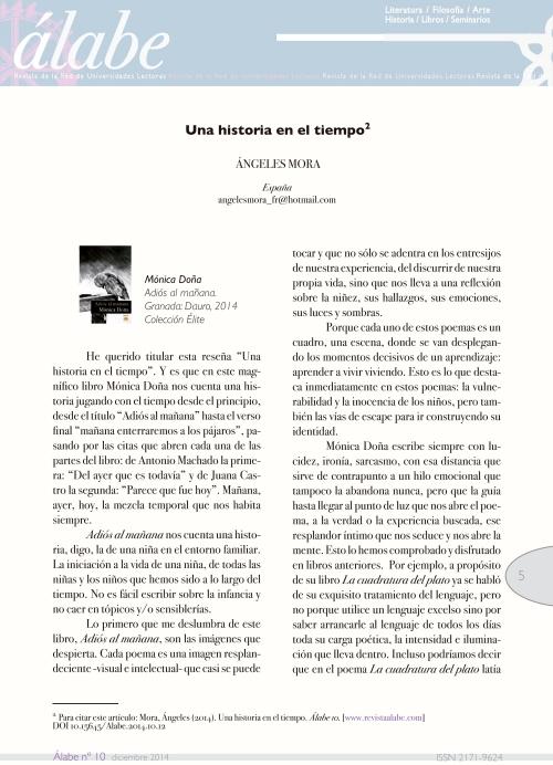 Revista Álabe 5