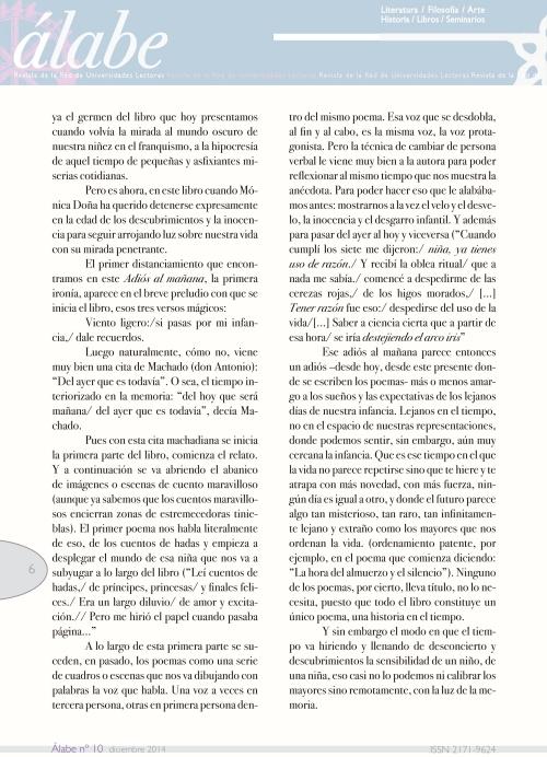 Revista Álabe 6