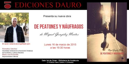DE PEATONES Y NÁUFRAGOS_invitacion