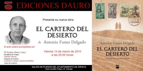 EL CARTERO DEL DESIERTO_invitacion Órgiva
