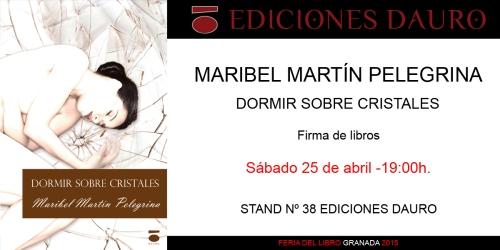 DORMIR SOBRE CRISTALES_invitacion_FERIA