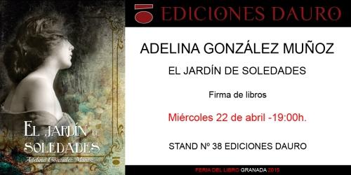 EL JARDIN DE SOLEDADES_invitacion_FERIA