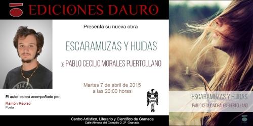 ESCARAMUZAS Y HUIDAS_invitacion Centro Artístico