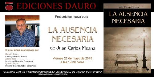 LA AUSENCIA NECESARIA_invitacion22-5-15