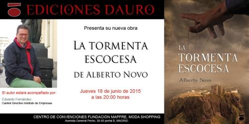 LA TORMENTA ESCOCESA_invitacion_MADRID