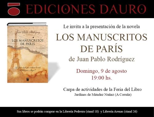 LOS MANUSCRITOS DE PARÍS 9-8