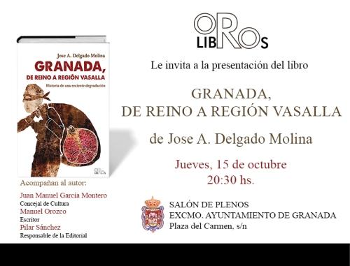 GRANADA UN REINO_invitacion15-10-15