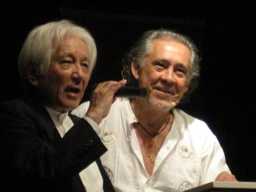 Yutaka y Pedro