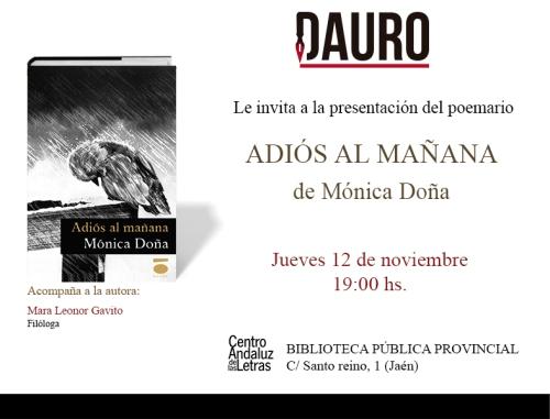 ADIÓS AL MAÑANA_invitacion 03-11-15