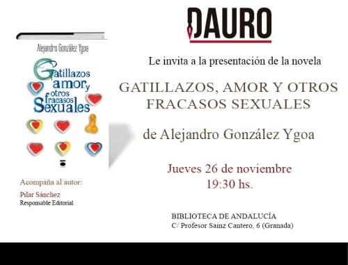 AMOR, GATILLAZOS_invitación Granada