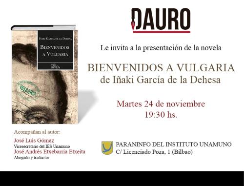 BIENVENIDOS A VULGARIA_invitacion nov