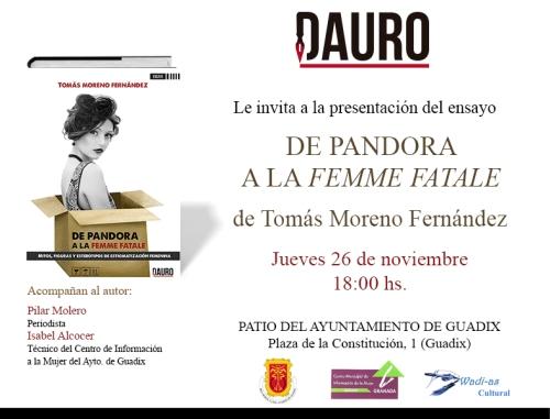 DE PANDORA_invitacion Guadix