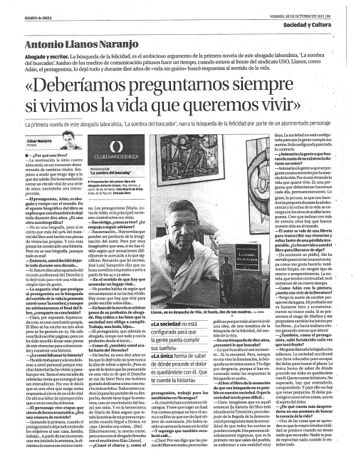 ENTREVISTA ANTONIO LLANOS
