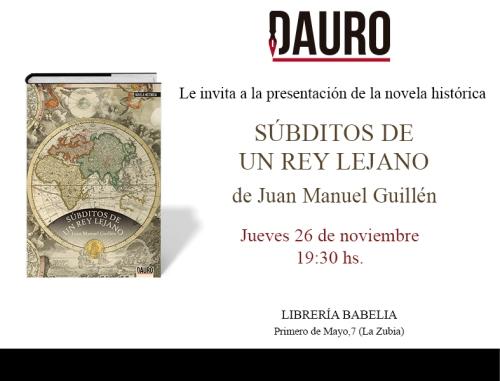 SÚBDITOS_invitación Zubia