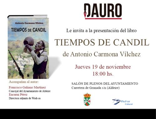 TIEMPOS DE CANDIL_invitación Aldeire