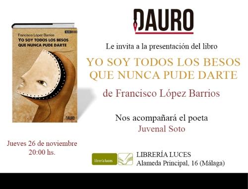 YO SOY TODOS LOS BESOS_invitación Málaga
